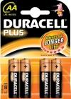 Batterijen Duracell AA MN1500PLUSK4